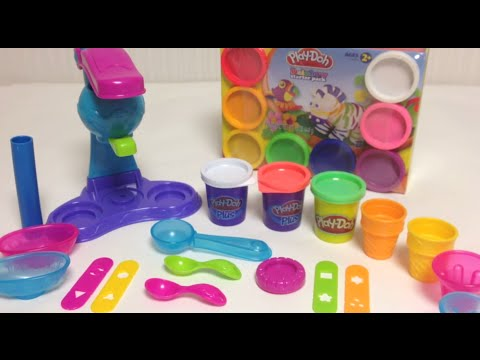 Play-Doh Ice Cream Playset Unboxing