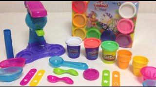 Play-Doh Ice Cream Playset Unboxing 플레이도우 아이스크림 장난감