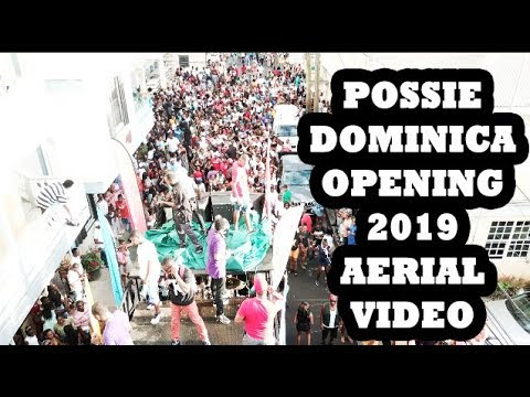 PORTSMOUTH OPENING 2019 AERIAL DOMINICA SKYVIEW
