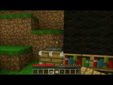 Minecraft Furniture 1 How To Make A Desk Refrigerator Toilet And T V In You