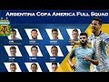 Official Argentina Squad for Copa America 2019|| Copa America Argentina squad