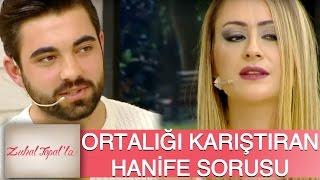 Zuhal Topal'la 81. Bölüm (HD) | Talibinin Serkan'a Hanife ile İlgili Sorusu Ortalığı Karıştırdı