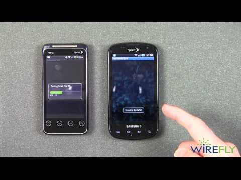 HTC EVO Shift 4G vs Samsung Epic 4G - Speed Test