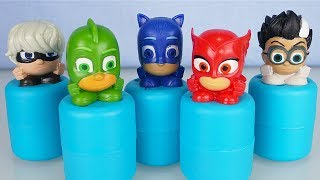 Pj Masks Super Pigiamini - Unboxing di 8 Super Squishy Mashems [Apertura blind bags in italiano]