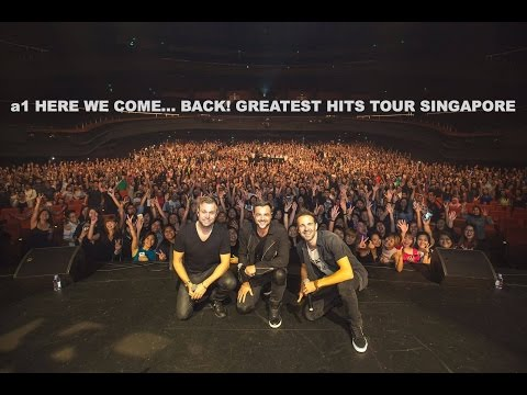 A1 Here We Come... Back! Greatest Hits Tour Singapore (22th October 2016)