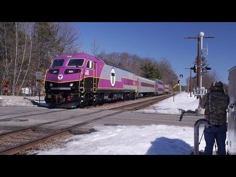 MBTA Testing New Locomotive