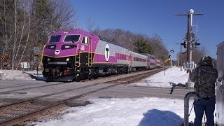 MBTA Testing New Locomotive