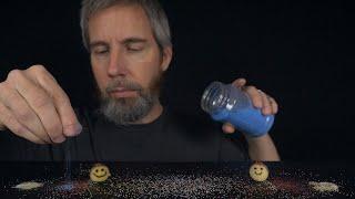 Sprinkling Sand Around Your Ears   ASMR