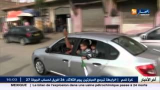 خنشلة : مسيرة حاشدة للتعبير عن مساندة رئيس الجمهورية بعد الهجمة الفرنسية