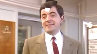Sticking with Bean | Funny Clips | Mr Bean Official