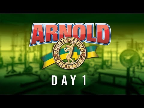Arnold Sports Festival Australia 2019 | Expo Day 1 | RAW VLOG 15 Mar 2019