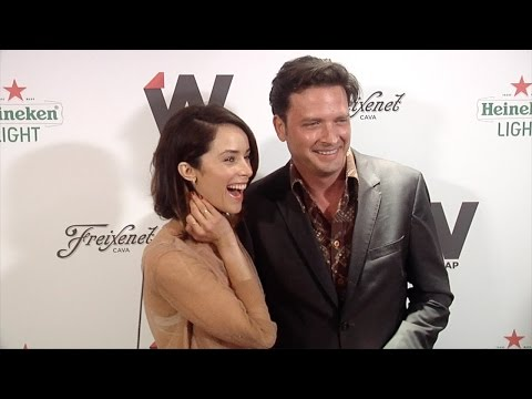 Abigail Spencer Suits & Aden Young Rectify  TheWrap 2nd Annual EMMY Party Red Carpet