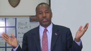 Ben Carson's controversial comments on Syrian refugees