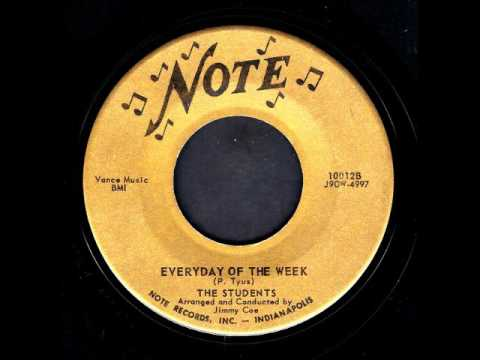 Everyday Of The Week-Students-'58-Note 10012