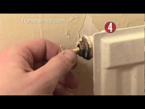 How To Bleed A Radiator HomeServe Video Guide