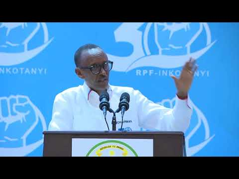 President Kagame speaks at Celebrating 30 years of RPF Inkot