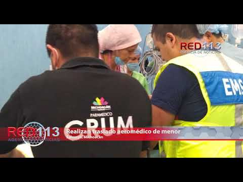 VIDEO Realizan traslado aeromédico de menor, para recibir atención de tercer nivel en Jalisco