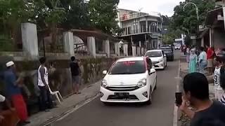 Kedatangan Bapak Jokowi ke Tumang