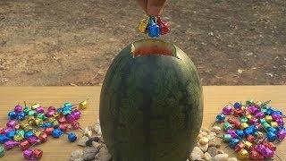 จุดไข่มังกรในแตงโม!!