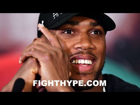 ANTHONY JOSHUA HAPPY FOR DEONTAY WILDER BEATING LUIS ORTIZ; EXPLAINS WHY