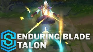 Enduring Blade Talon Skin Spotlight - League of Legends
