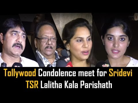 Tollywood Condolence Meet for Sridevi