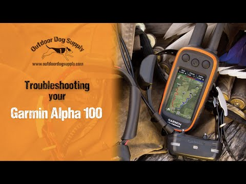 Setting Up Your Garmin Alpha 100 With Outdoor Dog Supply