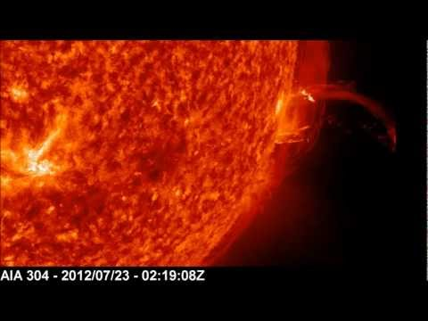 AR11520 | Strong Farside Flare (3900Km/s Velocity CME) | July 23, 2012
