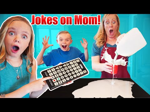 Sneaky Jokes On Mom! Funny Pause Challenge On Mother's Day!