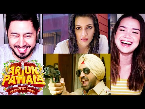 ARJUN PATIALA | Diljit Dosanjh | Kriti Sanon | Varun Sharma | Trailer Reaction by Jaby & Achara! Mp3