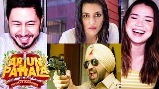 ARJUN PATIALA   Diljit Dosanjh   Kriti Sanon   Varun Sharma   Trailer Reaction by Jaby & Achara!