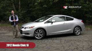 Honda Civic Si Coupe 2012 Test Drive & Car Review - RoadflyTV with Ross Rapoport