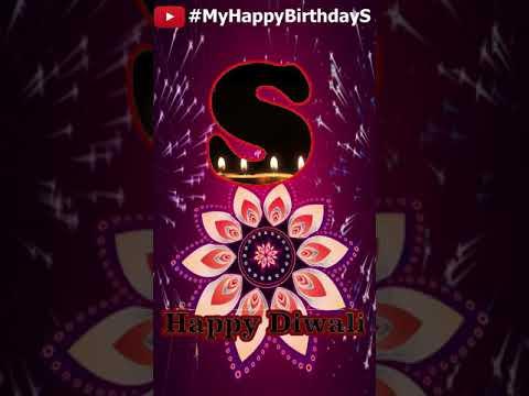S | Happy Diwali Whatsapp Standing Video S | Diwali Needs ||