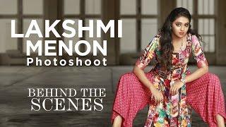 Exclusive Lakshmi Menon photoshoot behind the scenes video