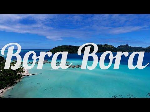 Bora Bora, French Polynesia, Aerial Drone Video