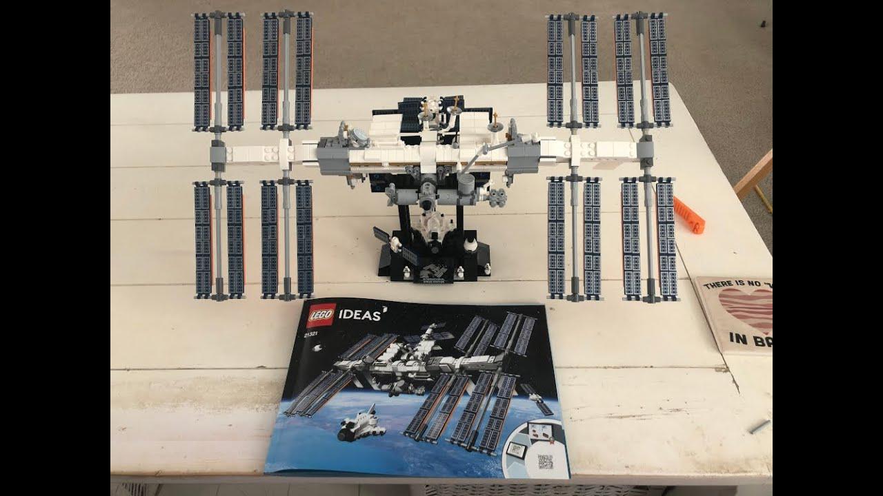 LEGO International Space Station build timelapse.