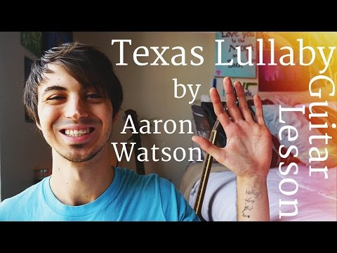 Texas Lullaby by Aaron Watson Guitar Tutorial // Guitar Lessons for Beginners (4K!)