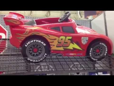 big lightning mcqueen of disney pixar cars 2 kids can ride on it youtube
