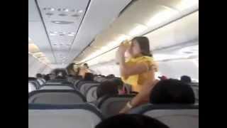 Want Cabin Crew Job? Sexy Cabin Crew Dancing for Passengers video