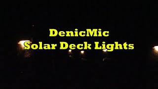 DenicMic Solar Deck Lights Review