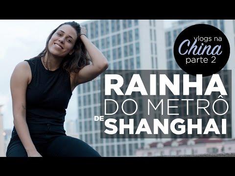 Cintia disse - Tutorial de metrô na China! (Shanghai - parte 2)