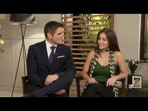 Daniel Arenas y Ela Velden confesaron con quien les gustaría despertar