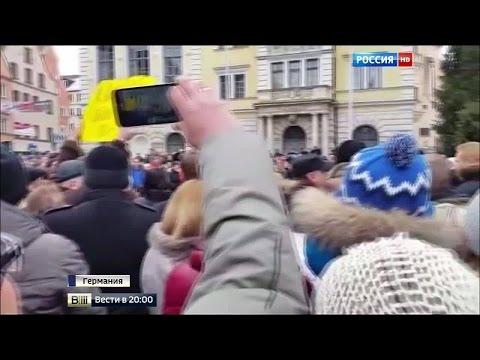 Мигранты гонят немцев