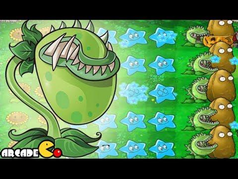 Plants Vs Zombies 2 Online - New Chomper Star Fruit Unlocked Part 2 (China Version)