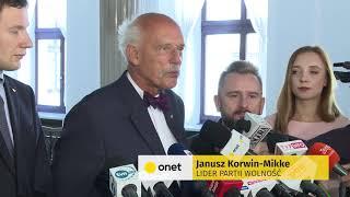 Liroy i Korwin-Mikke zawarli sojusz. Powalczą o Warszawę | OnetNews