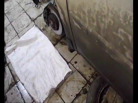 снятие и ремонт рулевой рейки, без снятия подрамника. Меган 2.
