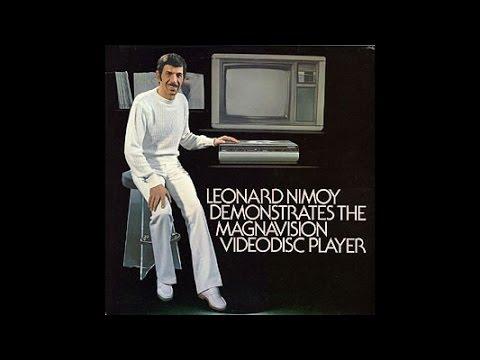 Leonard Nimoy Demonstrates Magnavision (1981)