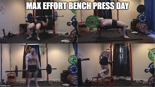 7-20-2020 Orc Mode Training - Max Effort Bench Press Day