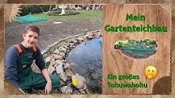 Mein Gartenteichbau - Ein großes Tohuwabohu 😂😨