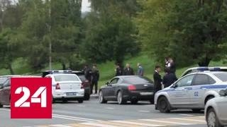 Московская полиция завела дело на свадебных стрелков